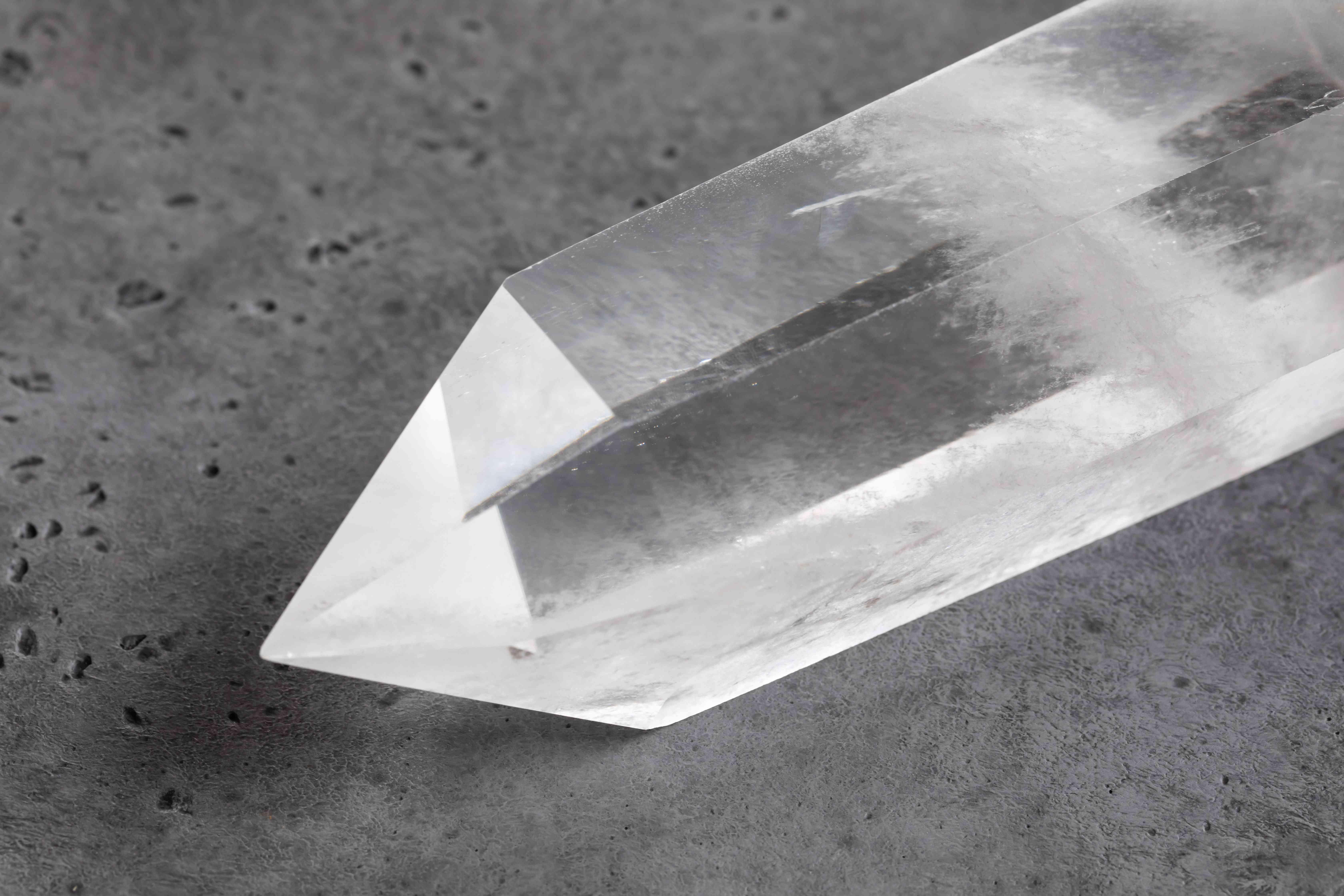 closeup of quartz