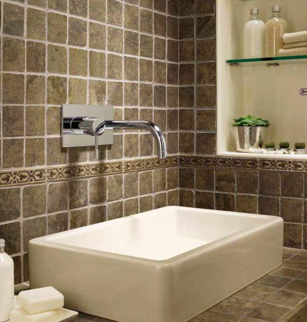 Quartz Bathroom Floor Tiles