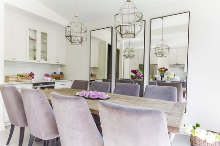 Living Room Violet Color 25 ways to decorate with pantone's color of the year 2018