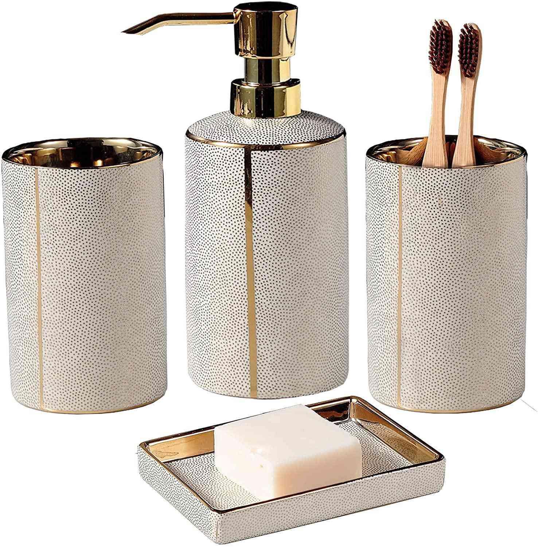 Everly Quinn Bathroom Accessories Set