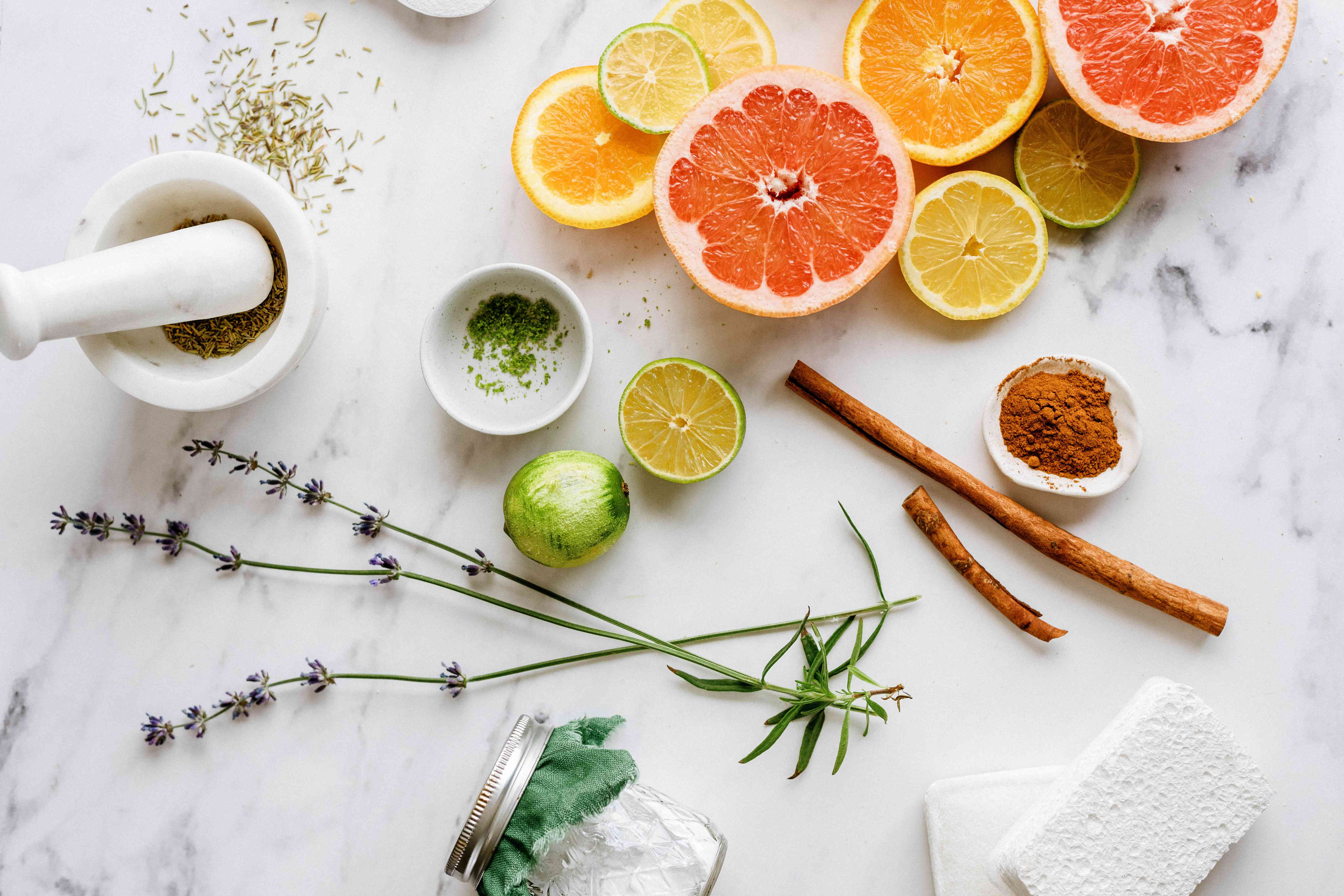 scented items to add to scouring powder