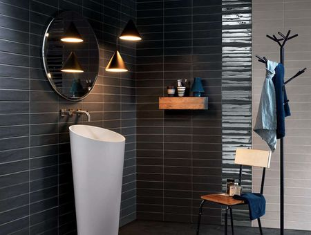 Dark Modern Bathroom