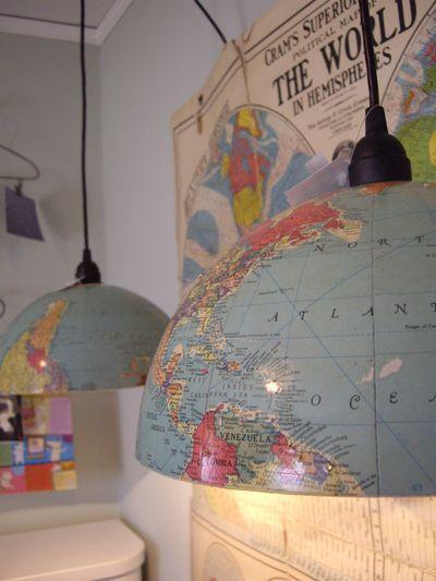 Lámparas de globo