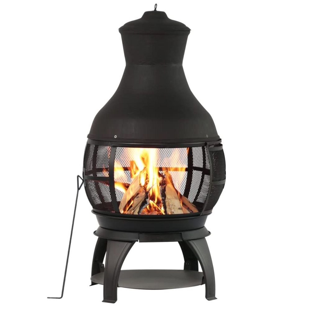BALI OUTDOORS Outdoor Fireplace Wooden Fire Pit