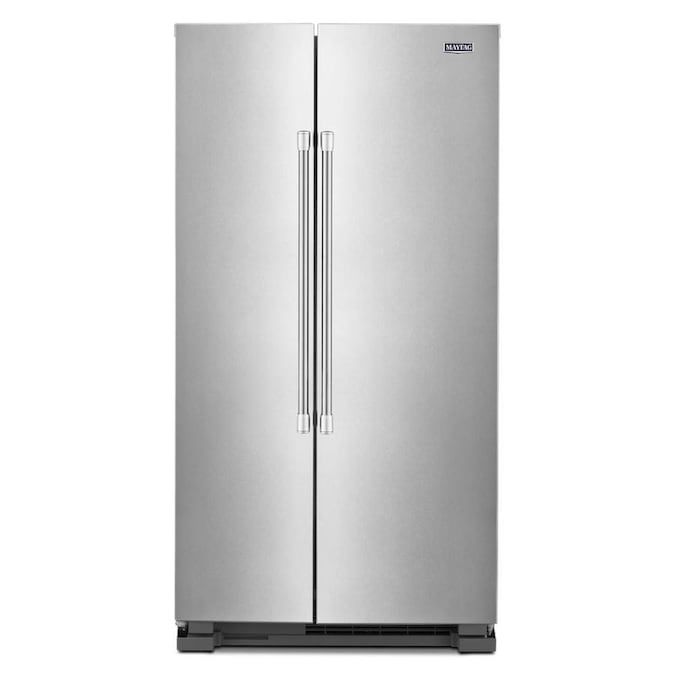 maytag-side-by-side-refrigerator-stainless-steel-no-water-dispenser