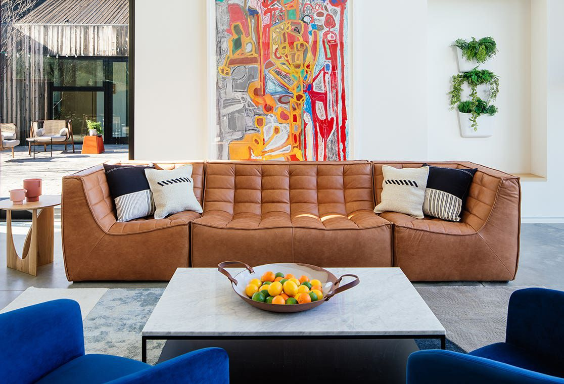 Industry West sofa living room