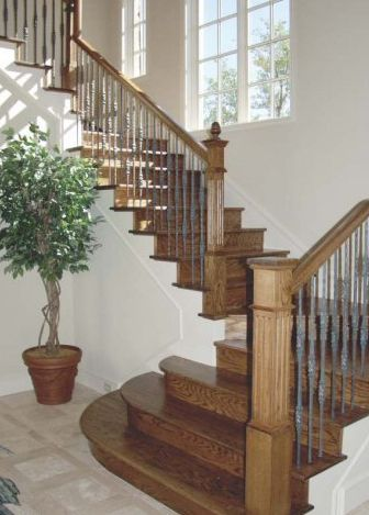 Diseño de escalera toscana