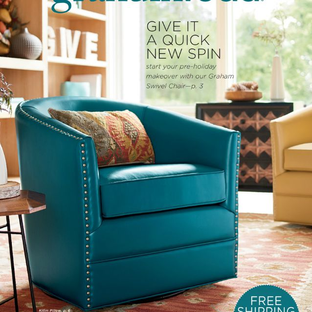 The Cover Of A Grandin Road Catalog