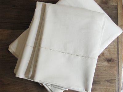 Fieldcrest Supima Classic Hemstitch Sheet Set