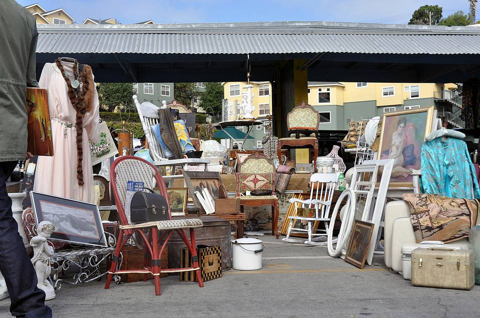 Alemany Flea Market booth