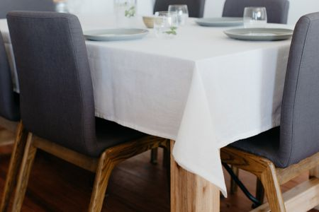 How To Wash Tablecloths And Linens - How To Remove Old White Heat Stains From Tablecloths