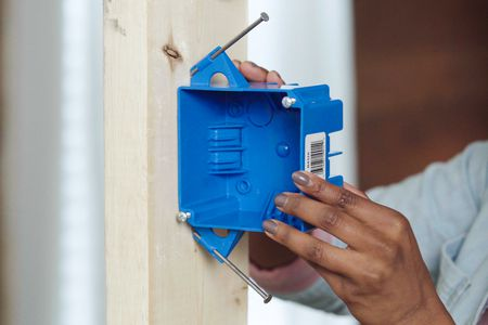 How To Install An Electrical Junction Box, How To Remove Outdoor Junction Box