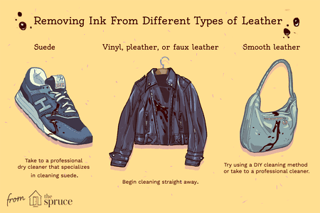 How to Remove Ink From Leather and Fabric