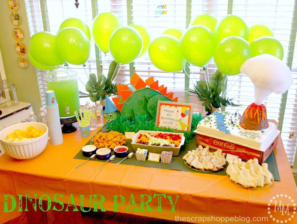 6 Terrific Dinosaur Birthday Party Ideas