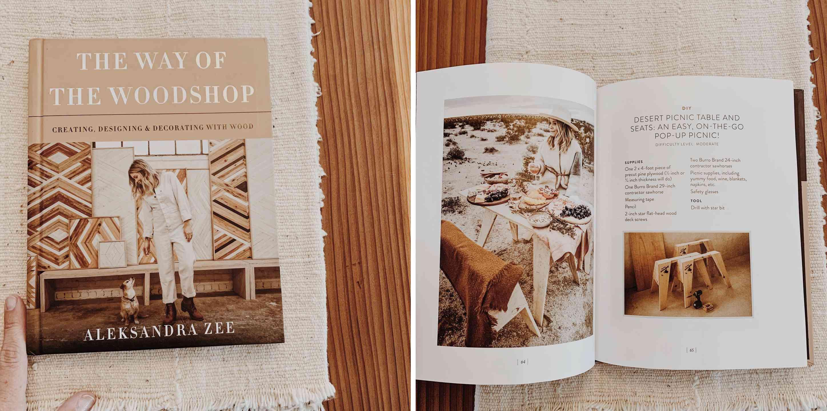 The Way of the Woodshop book by Aleksandra Zee