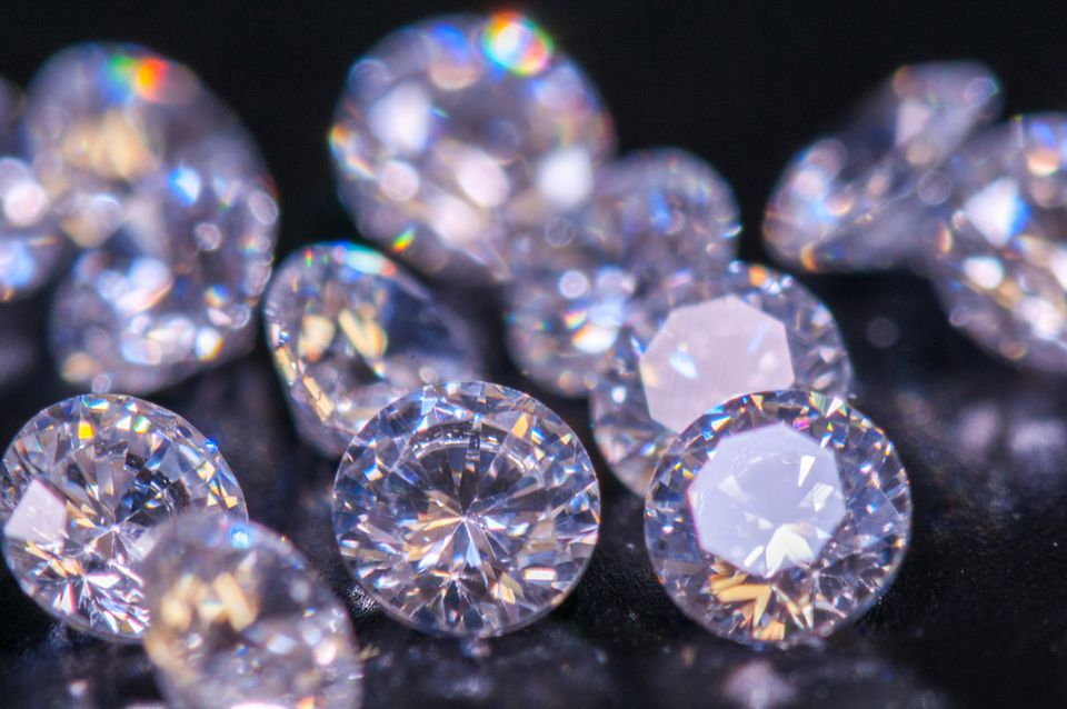 Close-up of Diamonds