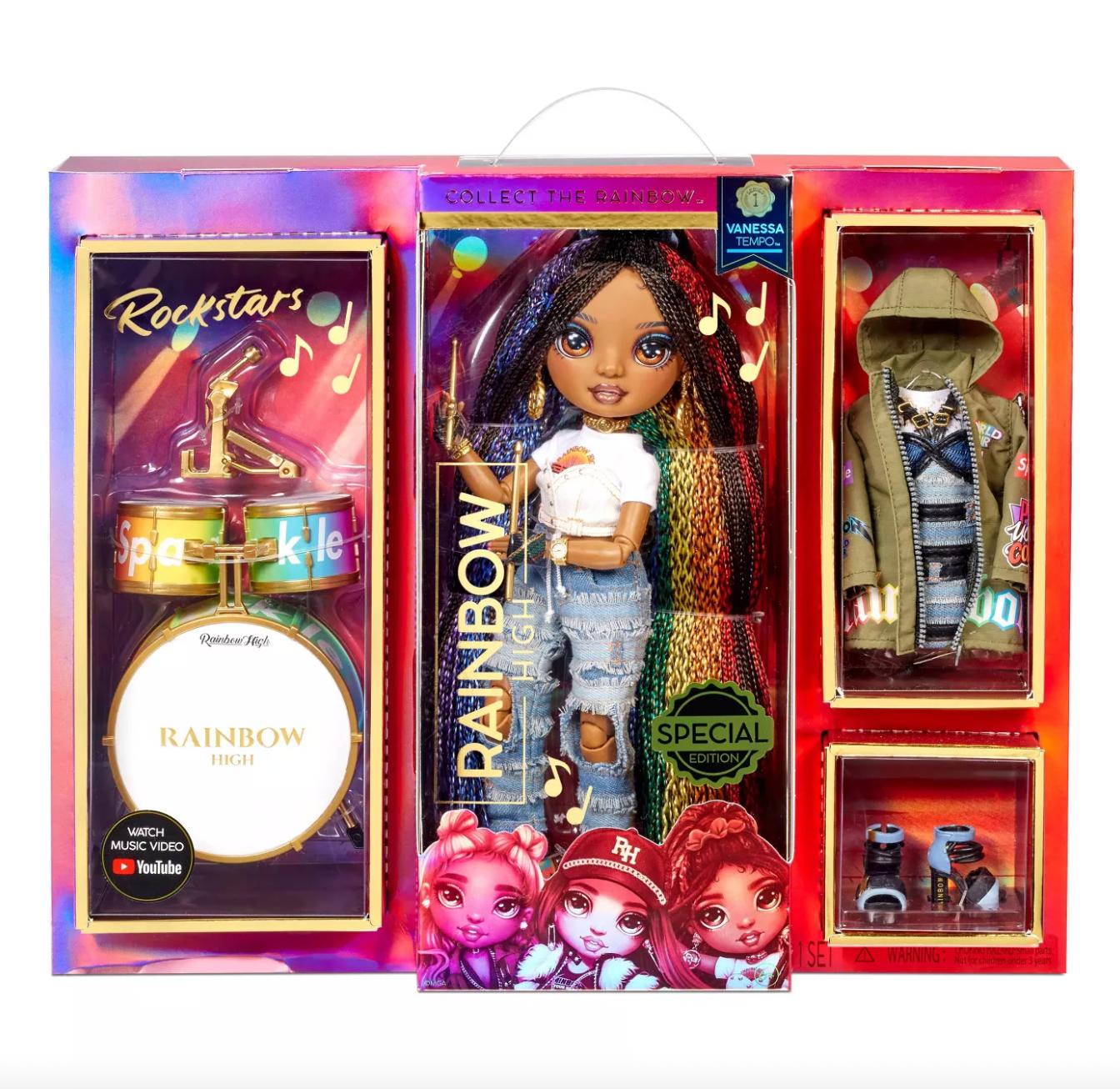 Rainbow High Vanessa Rockstar Doll