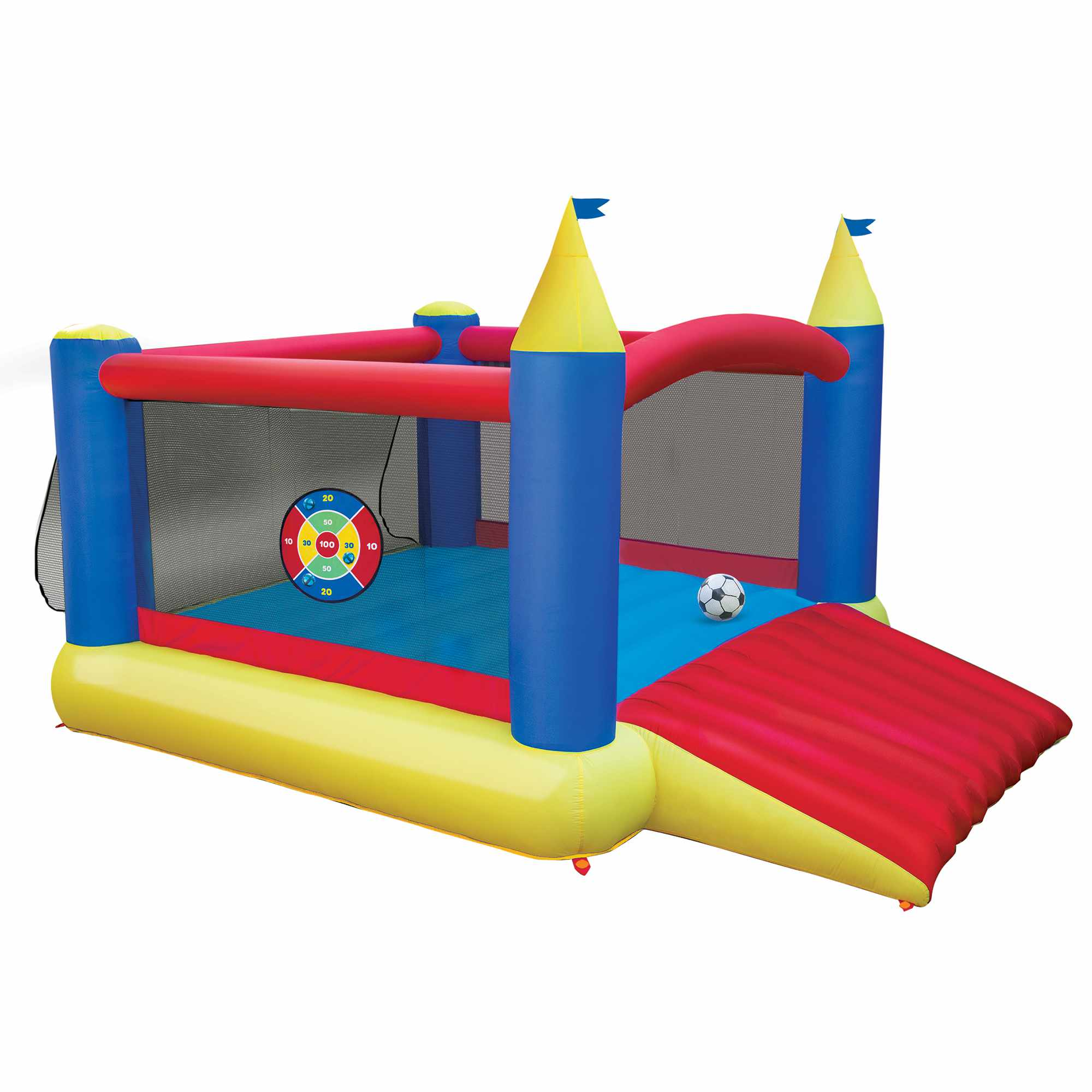 Banzai Slide 'N Score Inflatable Bouncer