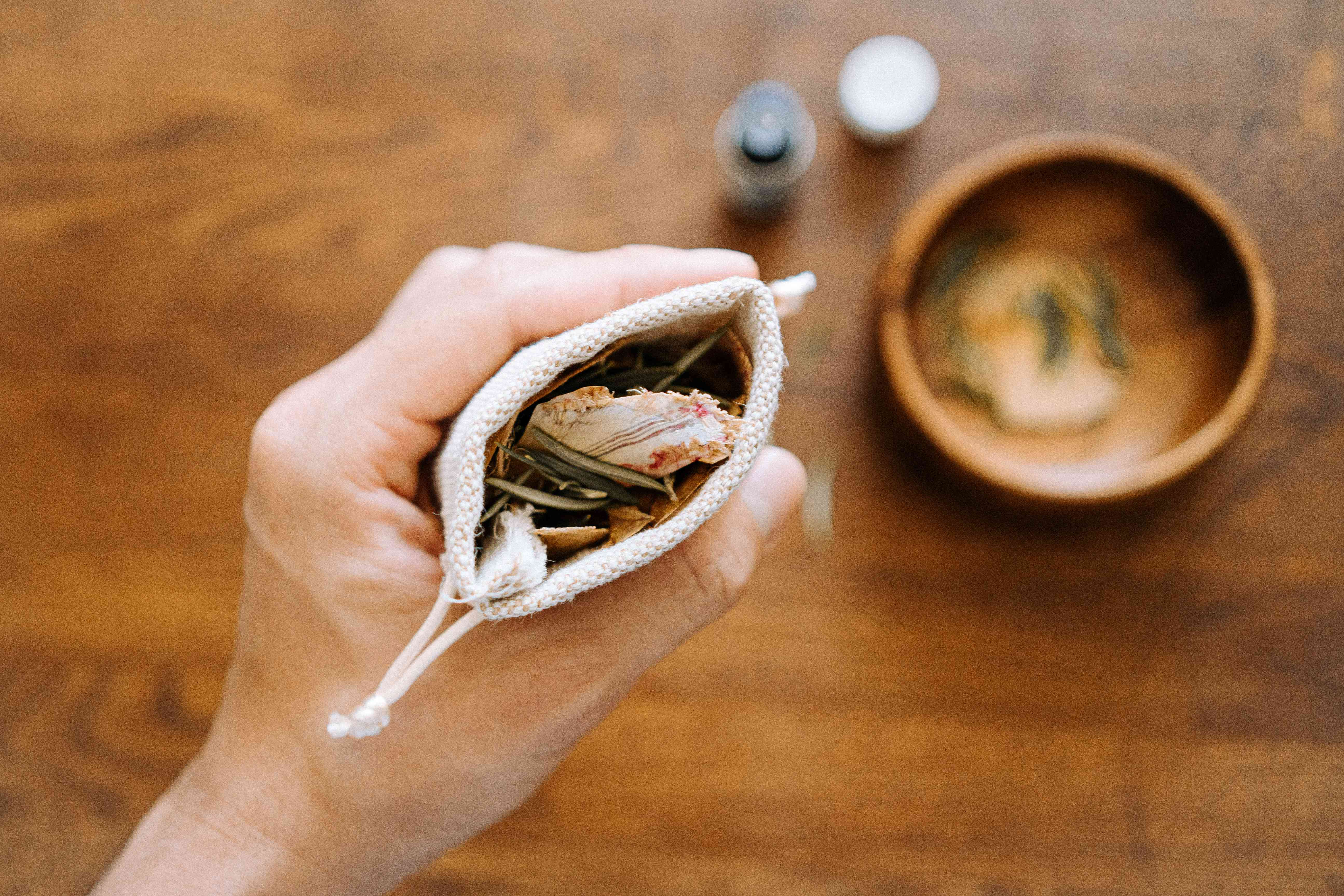 making your own sachets
