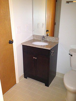 How To Replace And Install A Bathroom Vanity And Sink Gorgeous How To Install Bathroom Vanity