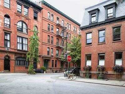 Urban Neighborhood Street Corner