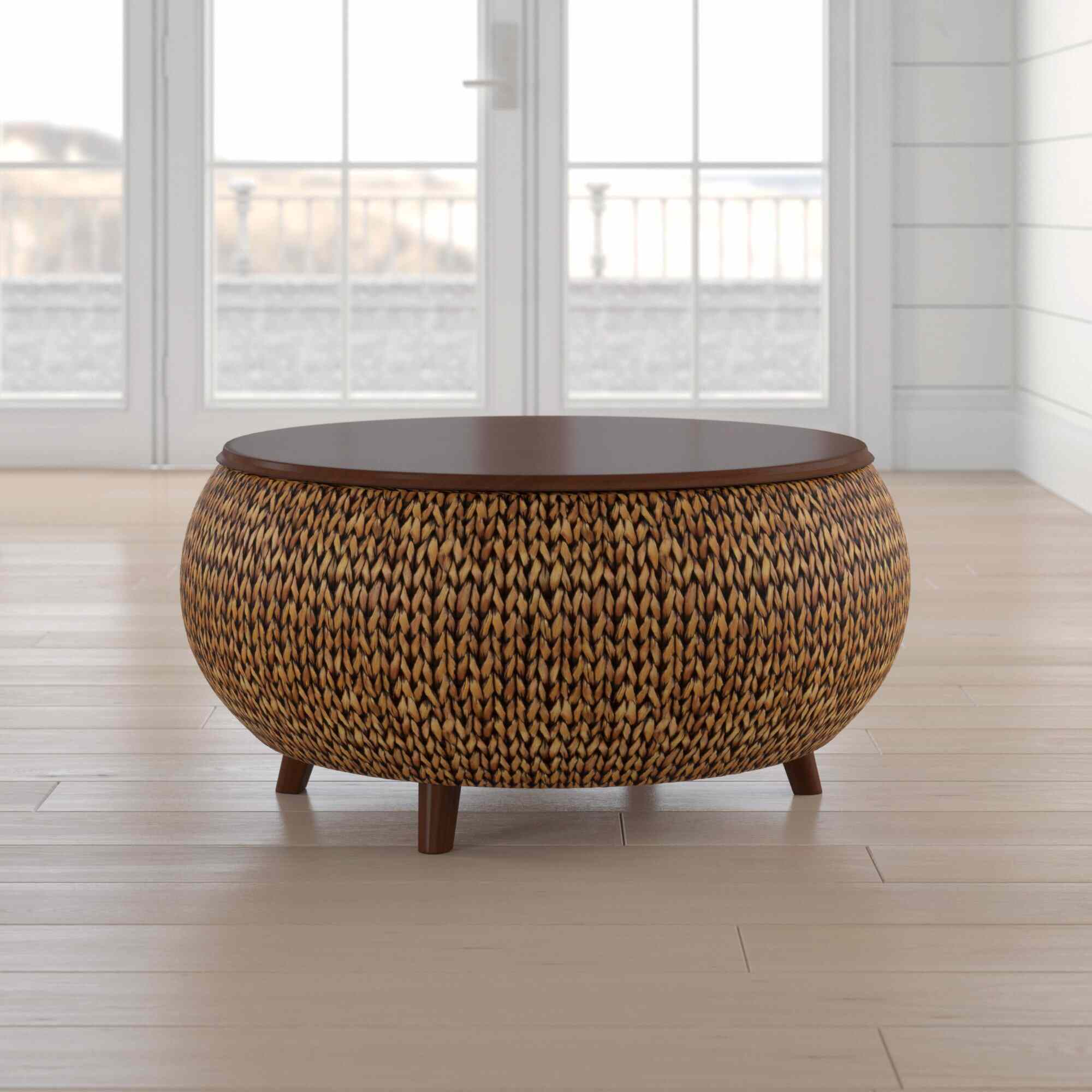 Beachcrest Home Nobles Lift-Top Coffee Table