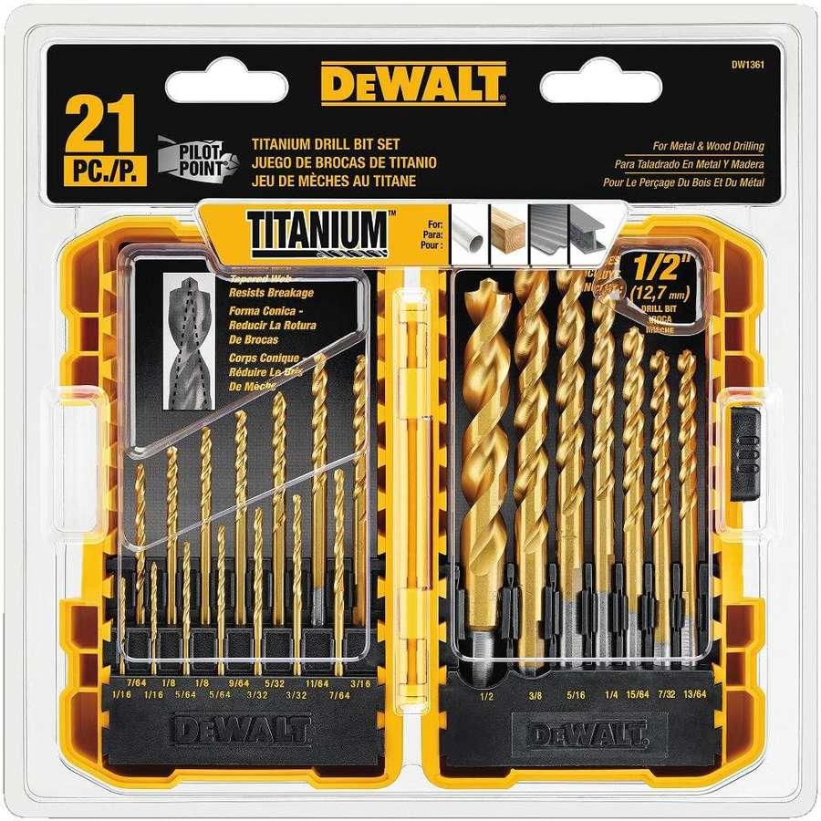 Professional Draper Masonry Drill Bit Set 17 Piece Kit Heavy Duty Masonary Bits