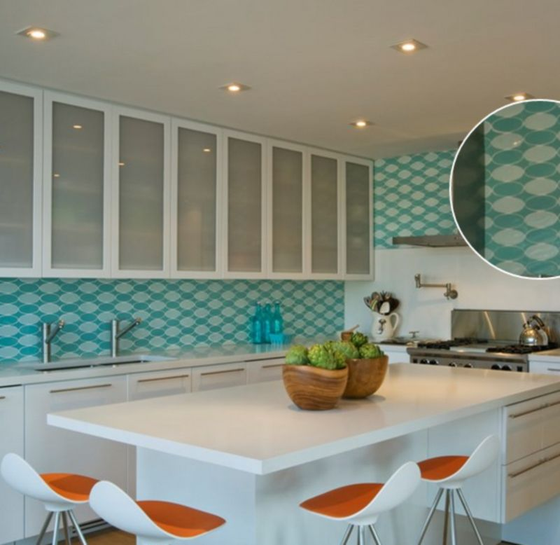 30 Amazing Design Ideas for Kitchen Backsplashes on 6x6 kitchen island, 12x12 kitchen tile backsplash, 6x6 kitchen tile flooring, 6x6 ceramic tile, 6x6 bathroom tiles, 6x6 pool tile, tropical kitchen tile backsplash,