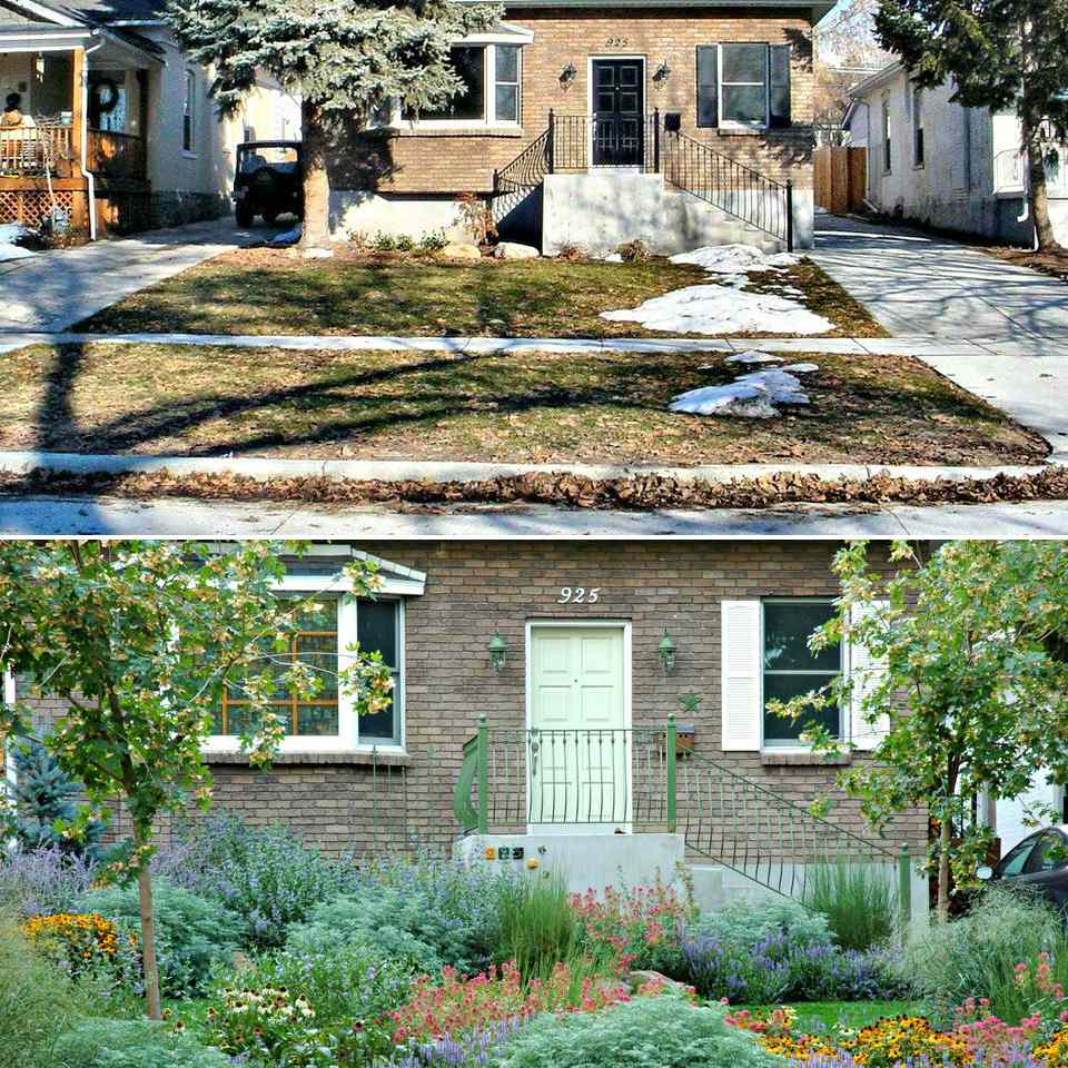 Before and After: A Bungalow in Salt Lake City