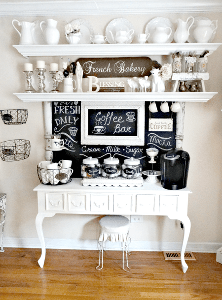 French Bakery Inspired Coffee Station