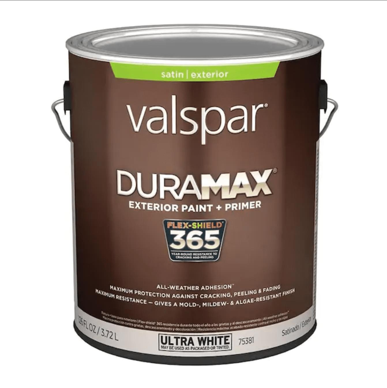 Valspar Duramax Base 1 Satin Exterior Tintable Paint