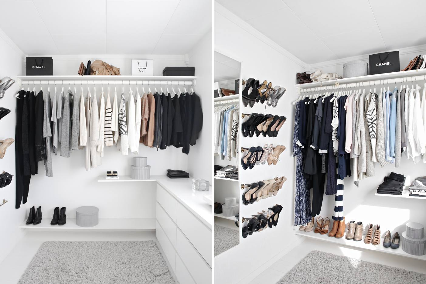 28 Best Small Walk-in Closet Storage Ideas for Bedrooms