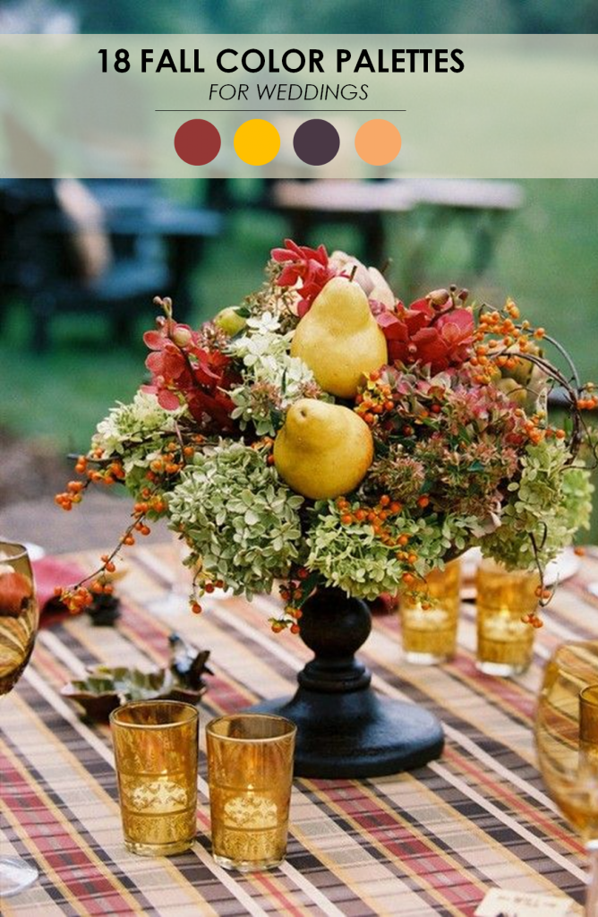 Trending for fall wedding decor ideas junglespirit Gallery