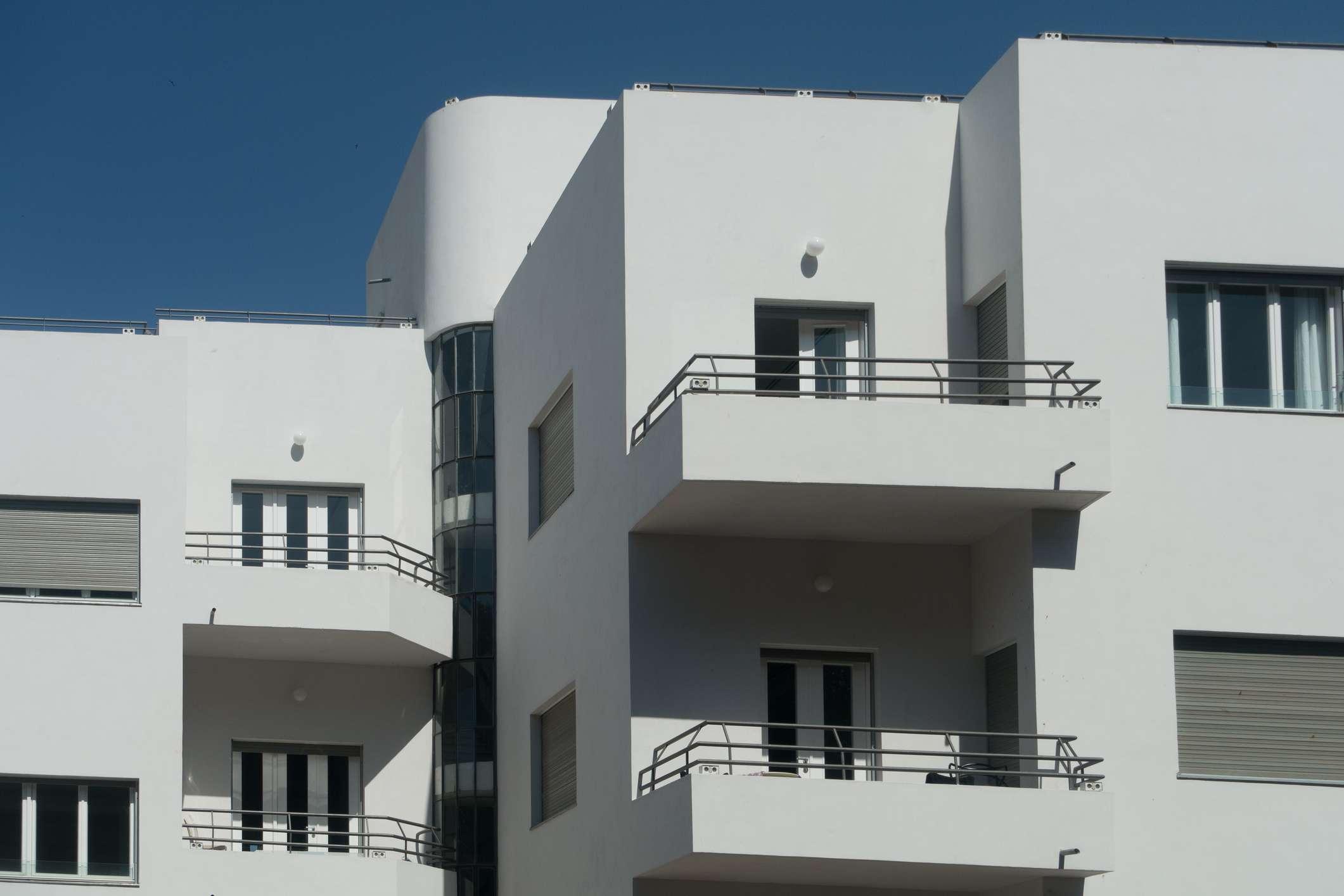 Bauhaus architecture in Tel Aviv