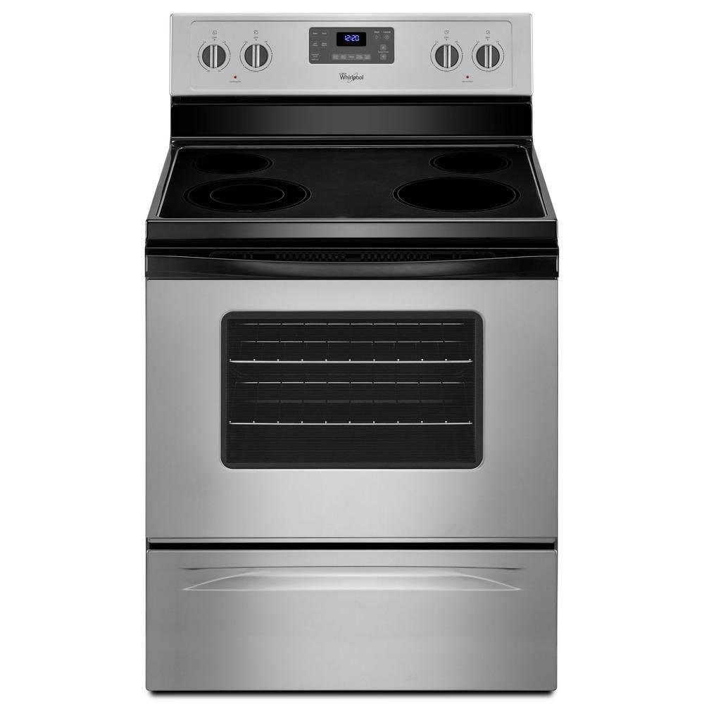 Runner Up Best Budget Whirlpool 5 3 Cu Ft Electric Range