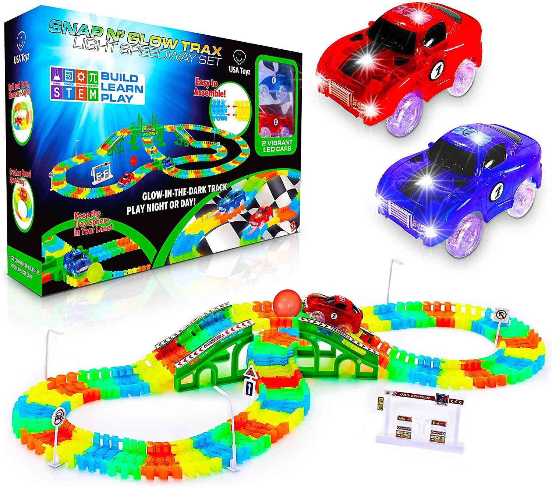 USA Toyz Glow Race Tracks