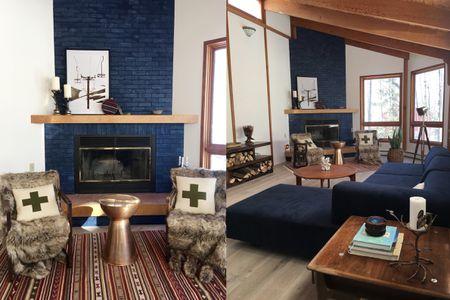 Phenomenal 32 Ways To Refresh A Brick Fireplace Download Free Architecture Designs Momecebritishbridgeorg