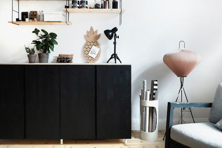 Credenza Billy Ikea : Bored of ikea alternative ways to store your records the