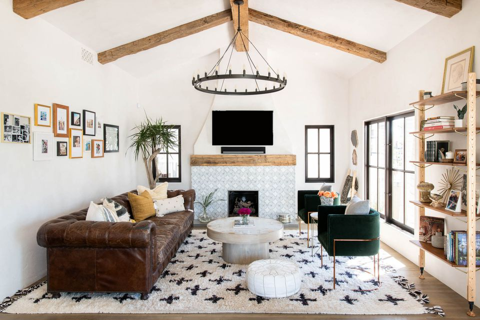 Moroccan rug in an interior