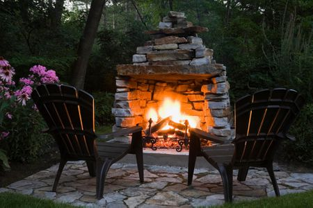 Free Outdoor Fireplace Construction Plans, Outdoor Fireplace Plans Free