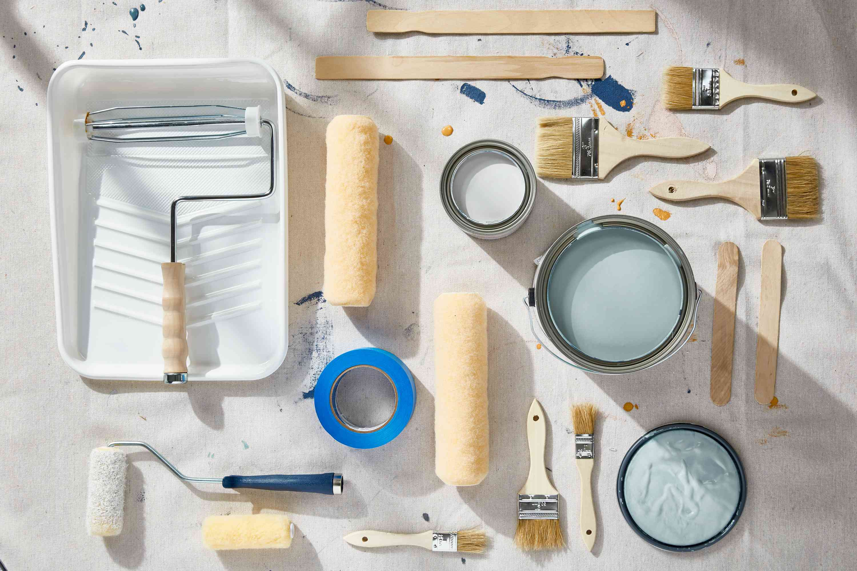 Paint store supplies