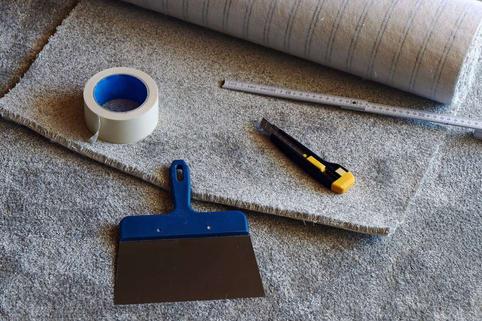 Carpet repair supplies