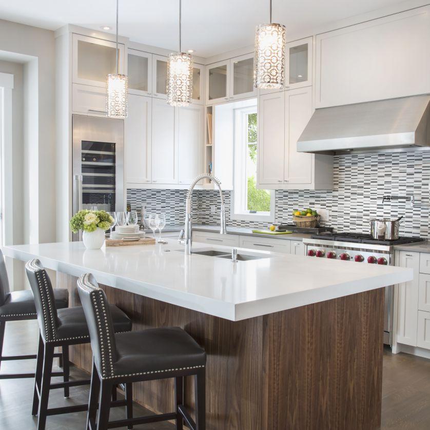 Ideas for White Kitchens   Vanessa Deleon