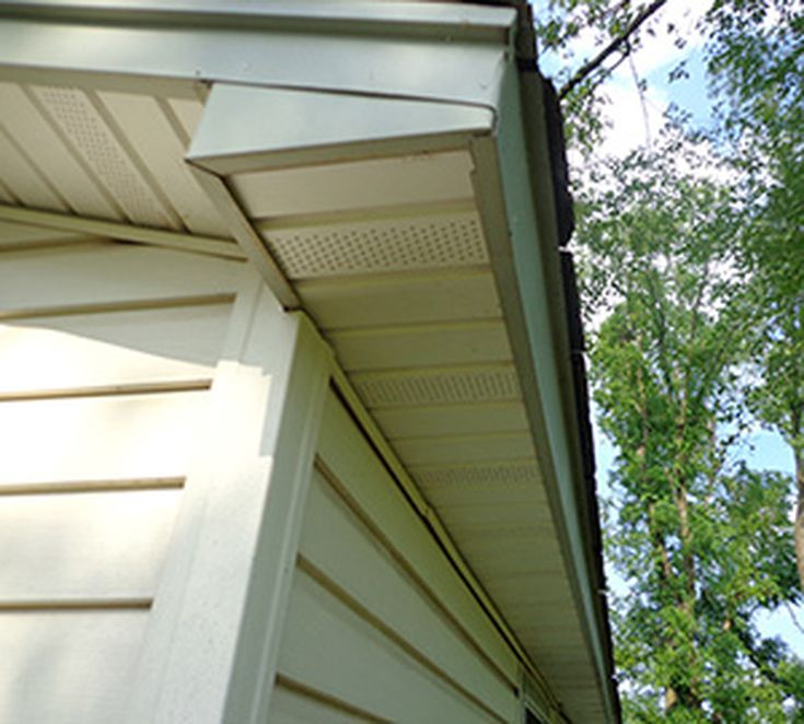 How to Ventilate Solid Wood Soffits