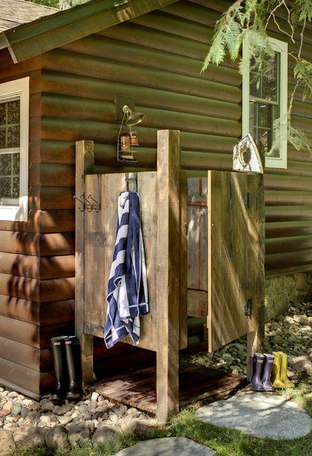 15 Outdoor Shower Ideas