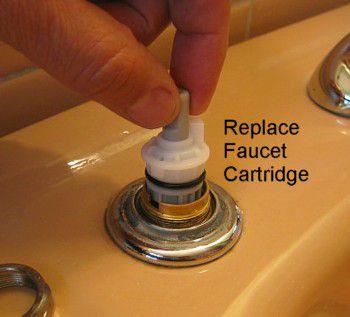 faucet repair - replace faucet cartridge