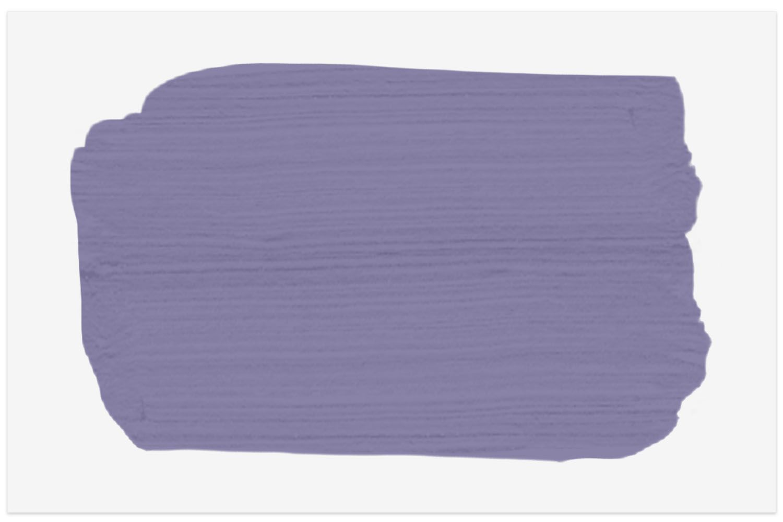 Benjamin Moore Spring Purple Swatch