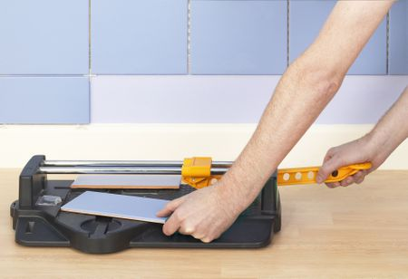 How To Cut Ceramic Tile With A Snap Cutter