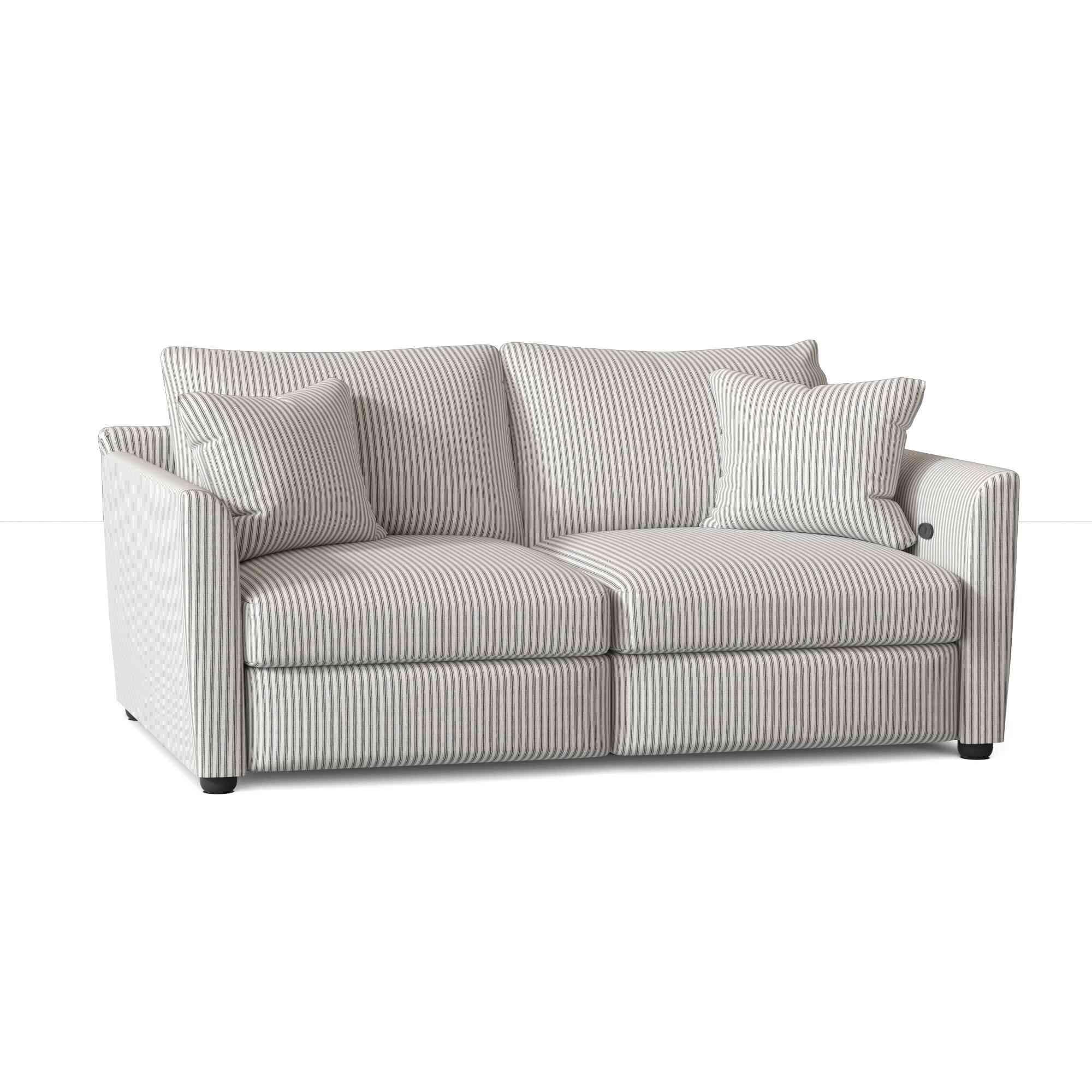 "Wayfair Custom Upholstery Georgia 61"" Flared Arm Reclining"