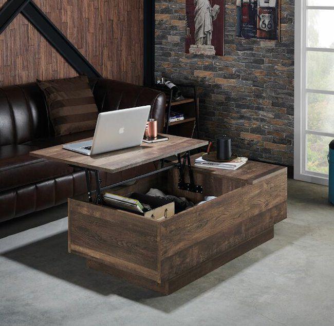 Laurel Foundry Modern Farmhouse Colten Lift Top Block Coffee Table